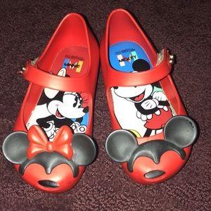 Mini Melissa Mickey & Minnie sandals